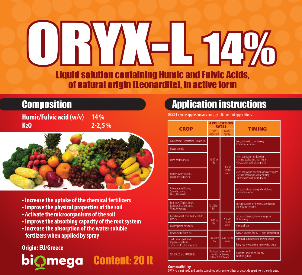 Oryx L Label
